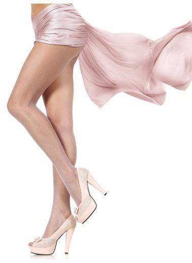 Pierre Cardin File Külotlu Çorap  Beyaz